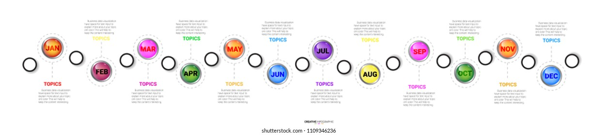 12 Months Images, Stock Photos & Vectors | Shutterstock
