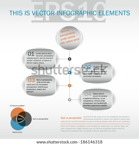 vertical timeline template web eps 10 stock vector royalty free