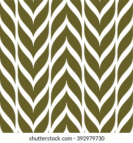 Vertical weaving pattern, seamless vector background.