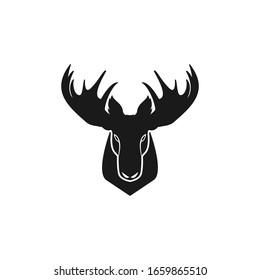 Very attractive Moose head vector logo design