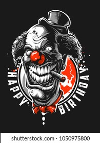 Very bad clown