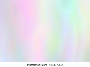 Very beautiful  Iridescent texture. Holographic Foil. Wonderful magic background. Colorful wallpaper. Rainbow card. Trendy art. Fantasy wallpaper