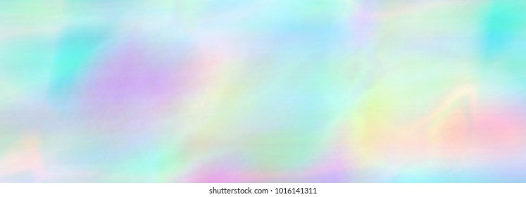 Very beautiful rainbow texture. Holographic Foil. Wonderful magic background. Colorful card. Iridescent art. Trendy punchy pastel