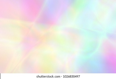 Very beautiful rainbow texture. Holographic Foil. Wonderful magic background. Colorful wallpaper. Iridescent card. Trendy art