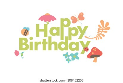 A very cute birthday card