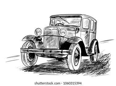 Royalty Free Old Car Stock Images Photos Vectors Shutterstock
