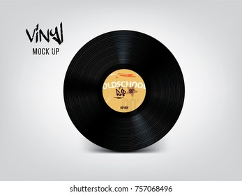 Very realistic vinyl mock up. Place your design on this beautiful vinyl!