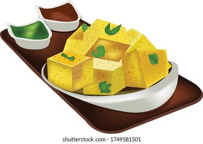 Very tasty Indian snack - Dhokala