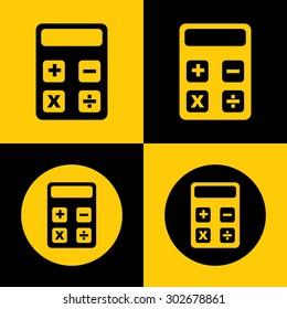 Very Useful Icon Of Calculator. Eps-10.