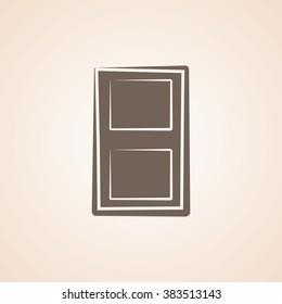 Very Useful Icon of Door for Web & Mobile. Eps-10.