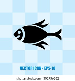Very Useful Icon Of Fish. Eps-10.