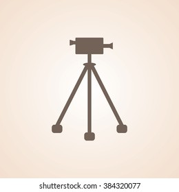 Very Useful Icon of Video Camera for Web & Mobile. Eps-10.