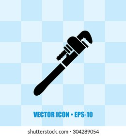 Very Useful Vector Icon Of Wrench. Eps-10.