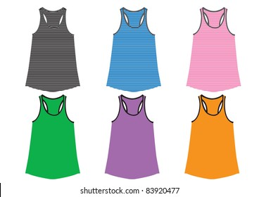 Vest Vector template for design work