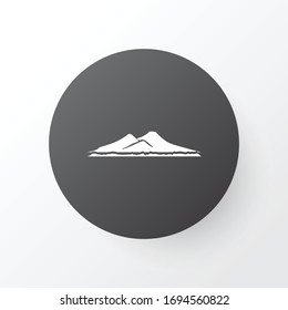Vesuvio icon symbol. Premium quality isolated volcano element in trendy style.