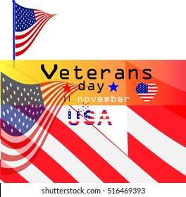 Veterans day background. Text veterans day 11 th november