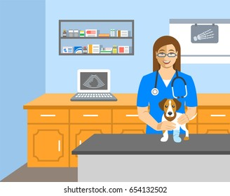Veterinary Office Stock Illustrations Images Vectors