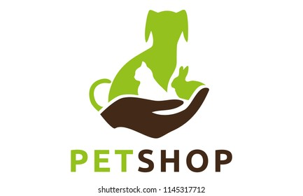 Veterinary Petshop Logo Design