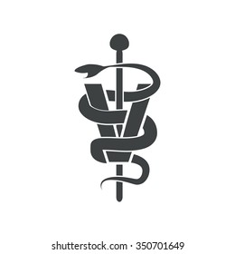 veterinary symbol vector design
