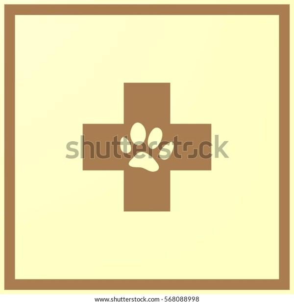 Veterinary vector icon