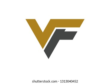 VF logo design