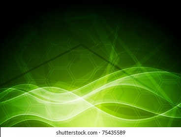 Vibrant abstract background with tech texture. Eps 10 vector