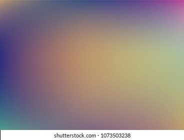 Vibrant Holographic Luxury Vector Background. Iridescent Gradient Modern Sci-Fi Cover, Banner Texture. Bright Sky, Sunset, Sunrise or Sunset Abstract Teal or Paper. Trendy Holographic Background.