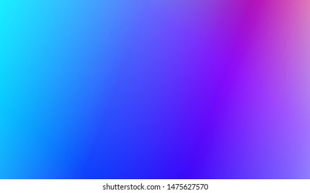 Vibrant And Smooth Gradient Soft Colors Background. For Web, Presentations And Prints. Vector Illustration