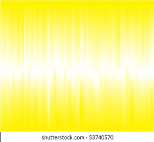 Vibrant yellow vector background