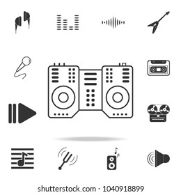 Vibraphone marimba icon. Detailed set icons of Music instrument element icons. Premium quality graphic design. One of the collection icons for websites, web design, mobile app on white background