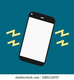 vibrate smartphone on silent mode