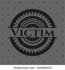 Victim dark badge