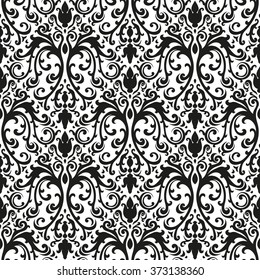 Victorian  seamless pattern, vector image