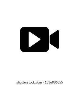 Video camera icon vector Illustration