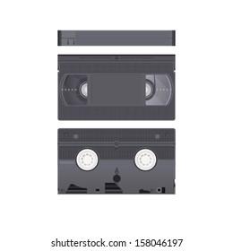 Video cassette. Vector