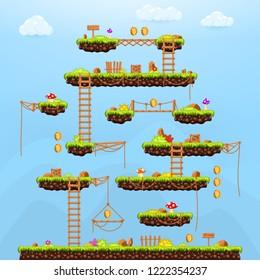 Platform Game Images, Stock Photos & Vectors | Shutterstock