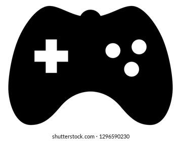 Video Game Controller Vector Icon