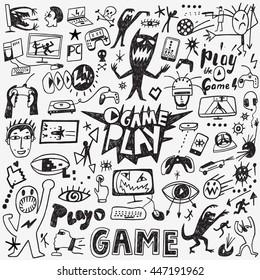 Video games doodles