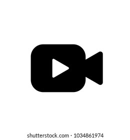 Video icon vector. Video camera vector. Video symbol. Linear style sign for mobile concept and web design. Video symbol logo illustration. vector graphics - Vector.