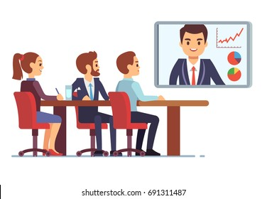 Video Conference Images, Stock Photos & Vectors | Shutterstock
