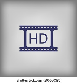 Video play hd icon