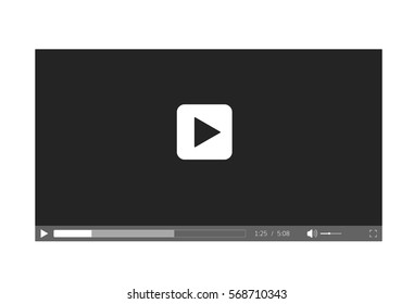 Video player for web site