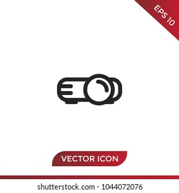 Video Projector Vector Icon