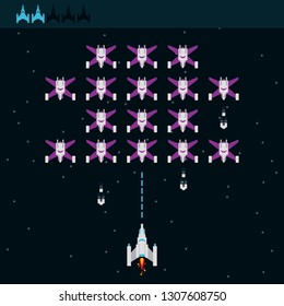 videogame spaceship alien