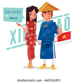 how to say hello beautiful in vietnamese