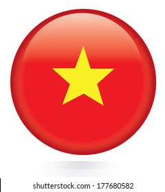 Vietnam flag botton