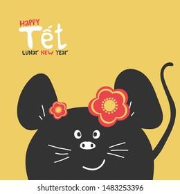 Vietnamese New Year 2020.Tet Holiday In Vietnam Stock Illustrations Images Vectors