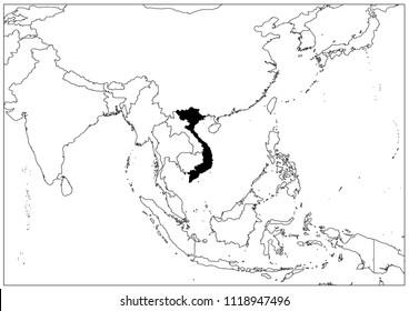 Vietnam map wallpaper map Geography