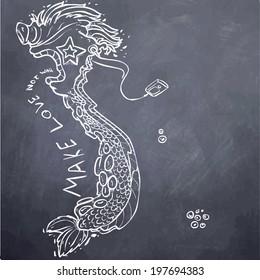 VIETNAMESE DRAGON-CHALK BOARD