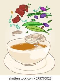 Vietnamese food-pho